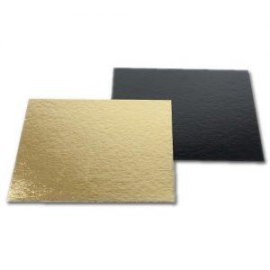 Afbeelding Goud Zwarte Taartkartons